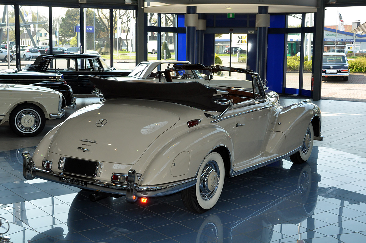 mercedes benz 300 sc cabrio w188 classic sterne. Black Bedroom Furniture Sets. Home Design Ideas